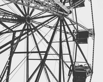 Up The Wheel - fine art photography print