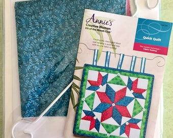 CREATIVE WOMAN FABRIC Tucking Kit ~ Quilting Kit-of-the-Month Annie's Quick Quilt