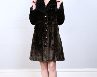 SALE - Faux Fur Coat