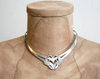 Handmade Mexican Silver Choker