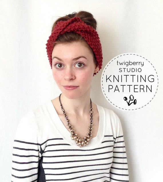 Colorful Knit Turban Pattern Image Collection Sewing Ideas