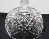 Antique U. S. Glass Co., Pennsylvania Pattern (#15048) Butter Dish Dome