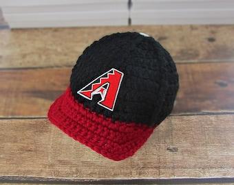 Newborn boy hats, Arizona Cardinals baby hat, baby boy  hat, boy baby hat, hat baby boy, newborn girl, newborn hat, boy baby newborn infant