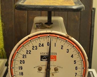Vintage Hanson food scale Model 2000 Rustic