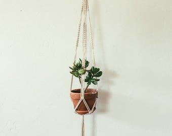 large macrame plant hanger
