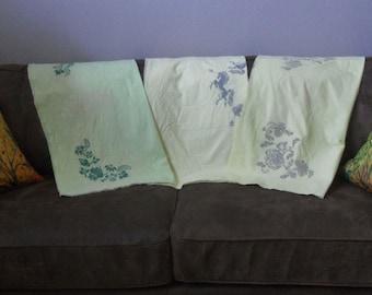 Vintage Stamped Tablecloths