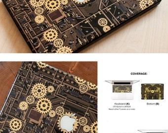 Macbook Skin Steampunk Macbook Pro Skin Macbook Air Skin Macbook Cover Macbook Decal Steampunk style # Steampunk