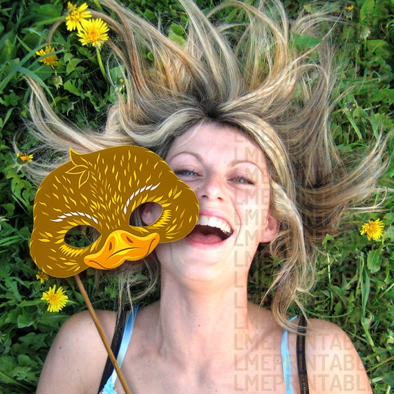 Easter Duck Mask 17