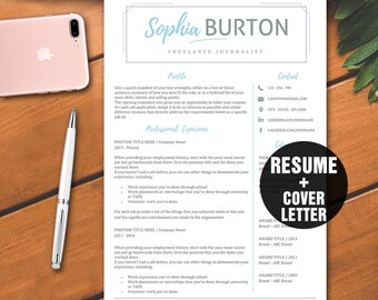 How To List References On A Resume Word Teacher Resume Templatemodern Resume Template Wordcv George Washington Resume Word with Resume Layout Examples Pdf Resume Template Word  Teacher Resume Design  Instant Download Resume With  Cover Letter And Icons Office Assistant Resume