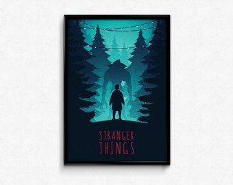 Stranger Things Eleven Poster Print
