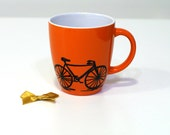 Cycling coffee mug Cycling gifts Bicycle mug Bike mug Bike art Bike gifts Cycle mugs Cycling mug Cycling coffee cup Bike gift Bike decor