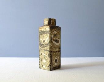 Vintage Nils Thorsson Baca Fish Vase for Aluminia - Royal Copenhagen