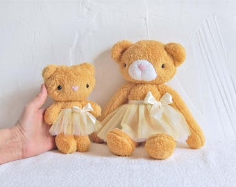 Stuffed Bear, Clothing for toys, Dress up Toy, Toy Bear, Stuffed Toy Animal, Gift for Children, Cute Soft Toy, Plush Teddy Bear, Plush Toy