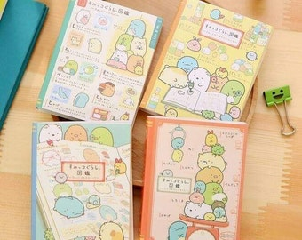 Sumikko Gurashi 4 Folding Memory Pad/Sticky Notes Noteook-San-X