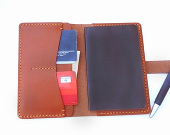 Handmade Leather Notebook Cover,Leather Journal Notes Moleskine
