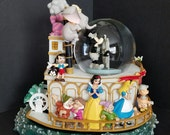 Disney Musical Snow Globe, Steamboat Willie Collectible, Rare Disney Collectible, 75 Year Disney Snow Globe, Disney Characters, Gift Giving