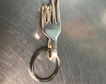 Spoon keychain, Silverware gifts, Silverware keychain