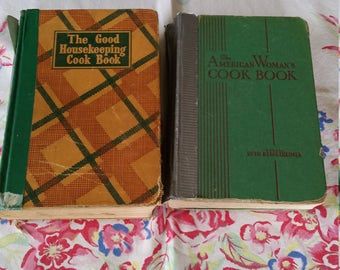 Two 1940s Wartime Cookbooks