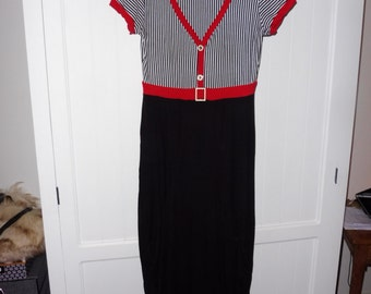 ALAIN MEMO dress size L - 1990s