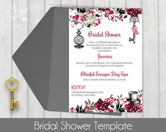 """Bridal Shower Template 