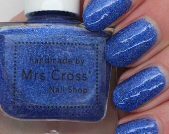 I Love Blue - 10ml - handmade in the UK Indie Nail Polish