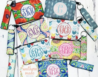 Personalized Gift Card Holder Monogram,  monogram coin purse,  monogram gift holder, monogram,  Bridal Gifts, Wedding Gift
