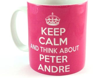 Keep Calm and Listen To Peter Andre 11oz Gift Mug Cup Present