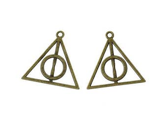 10 Harry Potter the relics of the Bronze death charms