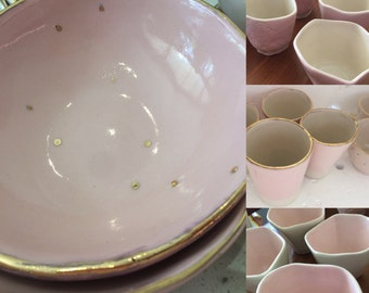 The Pink Plate Signature Series- Petal cup