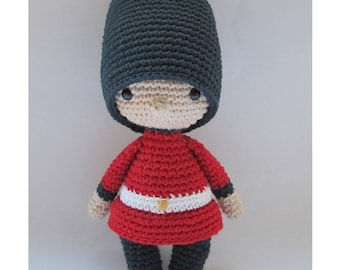 Mini Jack, the Royal Guard - Crochet Pattern by {Amour Fou}