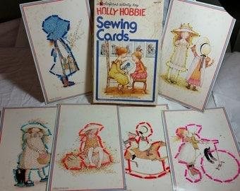 Vintage Holly Hobbie sewing cards