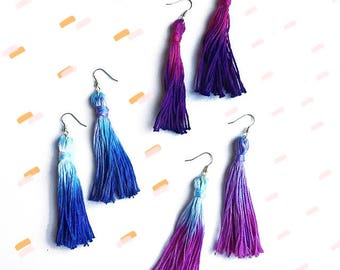 Cassie's Shop Tassel Earrings