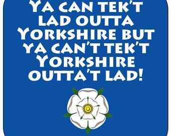 Yorkshire Phrase 5 Coasters