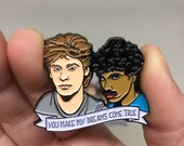 Hall and Oates - Enamel Pin -