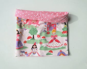 """Snood summer """"pink princess"""" in stretchy jersey for girl. Unique size"""