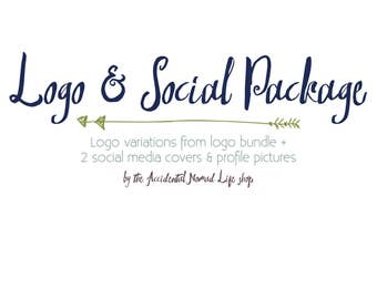 Logo and Social Media Package