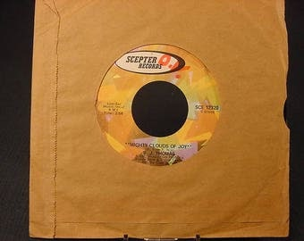 45 Vinyl Record * Vintage Old Collectible * Scepter * B J Thomas * Life/Mighty Clouds of Joy