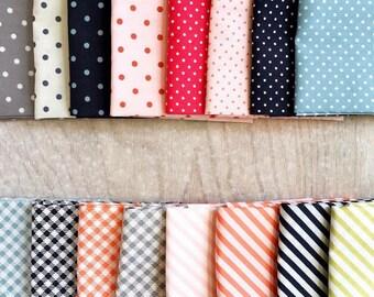 Fat Quarter Les Petits by Amy Sinibaldi for Art Gallery Fabrics - Petits Stipples- 16 Fabrics
