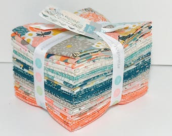 Fat Quarter Bundle Ava Rose by Deena Rutter for Riley Blake Designs-  5870-21 Fabrics