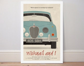 Movie poster 'Withnail and I' colour print