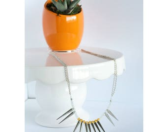 Spike Necklace and Earrings set