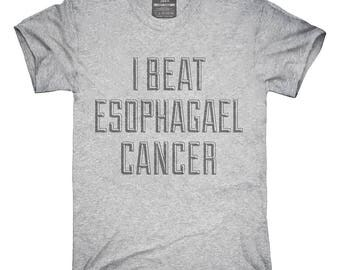 I Beat Esophagael Cancer T-Shirt, Hoodie, Tank Top, Gifts