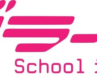 Love Live! School idol project logo sticker decal