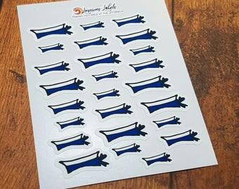 Australian Navy Sailor Hat Planner Stickers