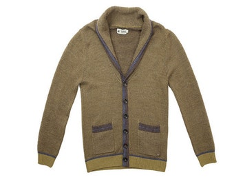 Men's sweaters leisure British business youth sweater cardigan coat lapels Men cardigan  Men sweater