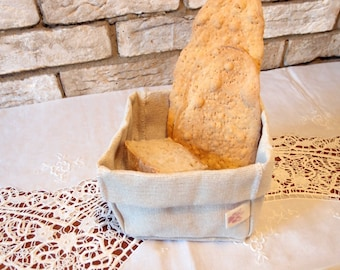 Bread basket fabric, bread container, bread basket, bread basket, Mother's Day gift idea, Mother's Day