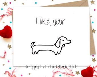 Valentines Day Card, Card for Him, Boyfriend Card, Husband Card, Funny Valentine, Birthday Card, Valentine For Him, Valentines Day Gift
