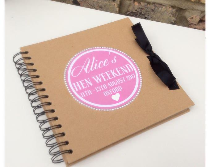 Personalised Scrapbook | Weddings | Birthday scrapbook | Memories | Guest book | Journal for Bride's | Photo album/scrapbook.