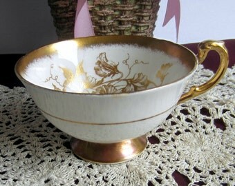 Paragon Golden Glory Bone China Tea Cup Only - Made in England