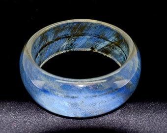 Blue Bracelet Bangle Bracelet Chunky Bracelet Fashion Jewelry Wide Bracelet